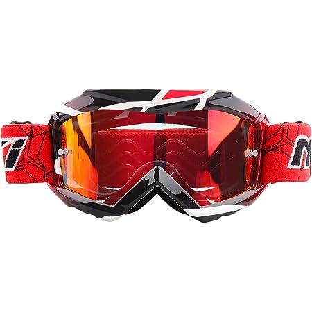 rouge NENKI Masque//Lunette Moto Cross Enfant NK-1018