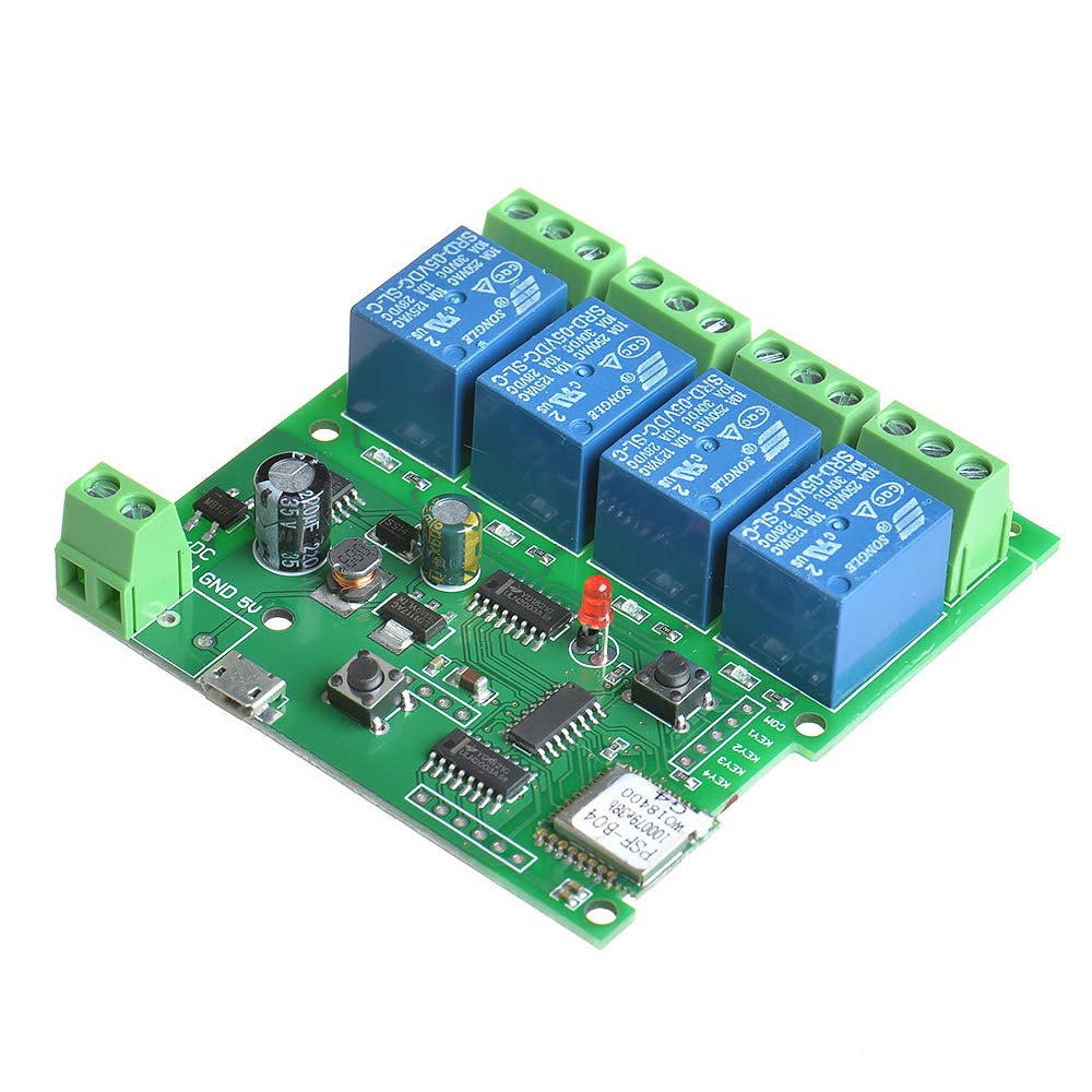 MHCOZY WiFi Wireless Smart Switch Relay Module for Smart Home 5V 5V