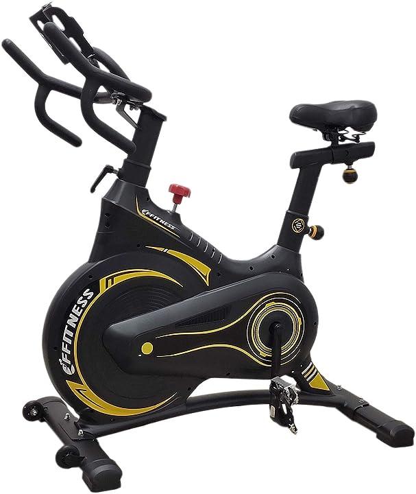 Spinbike - ffitness indoor spinning bike carenata con freno magnetico e volano 13kg FLUF3605