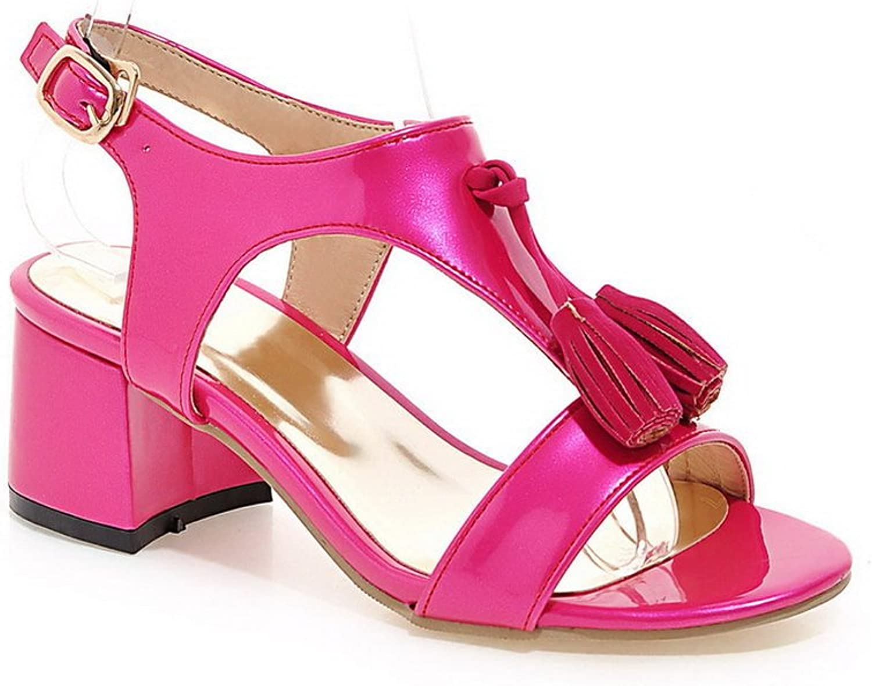 AN Womens Cold Lining Fashion Soft-Toe Urethane Sandals DIU00768