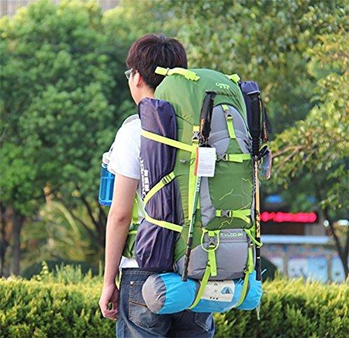 Sac à dos grande capacité extérieures sacs à dos randonnée voyage sac à dos voyage sac 70L