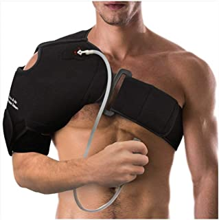 NatraCure Hot/Cold & Compression Shoulder Support 6032 - (Left/Right Shoulder Brace) - (for Shoulder Sprains, Strains and ...