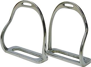 Bent Leg Safety Stirrup Irons - 4.75
