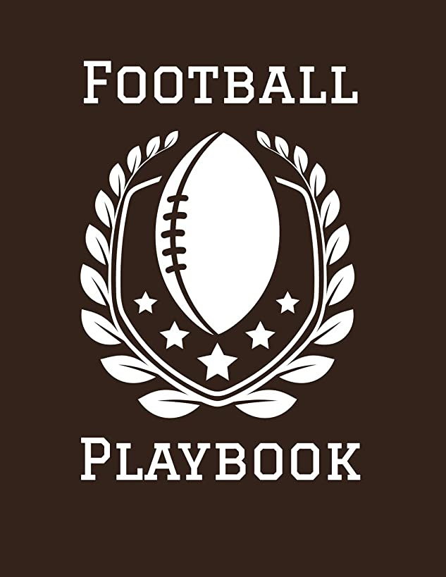 Football Playbook: 2019-2020 Coaching Notebook, Blank Field Pages, Calendar, Game Statistics, Roster