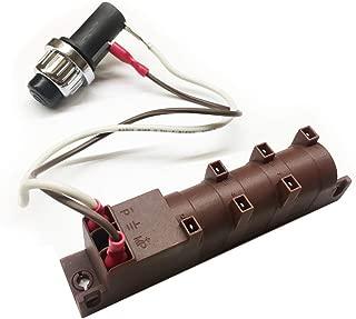 Grilling Corner Ignitor Assembly Kit for Vermont Castings 50001619 & 50001011, CF9080, VC500, VCS3506BI, VCS5026, VCS5036, VM508, Jennair JA480, JA580