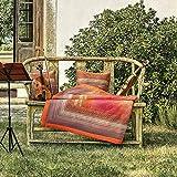 Bassetti Nabucco Plaid, Baumwolle, B1 Blu, 135x190cm
