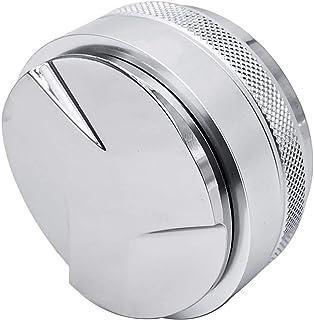 Camisin Distributeur de café 53 mm, compacteur et compacteur manuel, convient pour un portafiltre de 54 mm, tamper à café ...