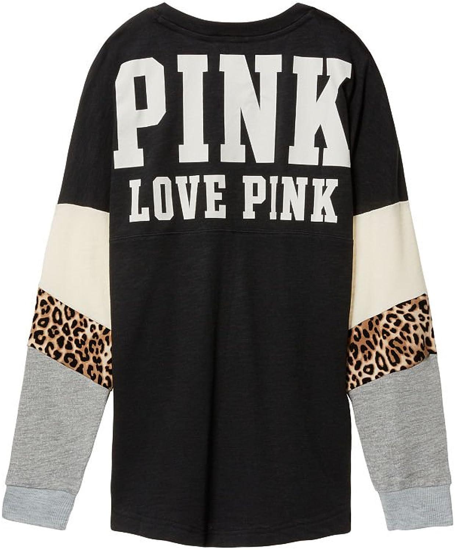 VS PINK Victoria's Secret Pink Varsity Crew