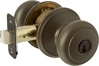Schlage F80-AND Andover Storeroom Door Knob Set with Andover Rosette from The F-, Oil Rubbed Bronze