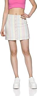 Forever 21 Linen a-line Skirt