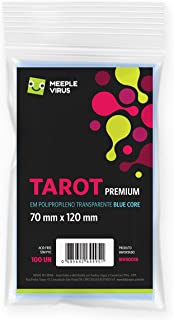 Sleeves Tarot Premium 70 x 120 mm - (Blue Core)