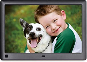 LOVCUBE 10 Inch Digital Photo Frame L10X - Digital Picture Frame with 1280 x 800 HD 16:10 IPS Display, Motion Sensor, USB and SD Card Slots and Remote Control