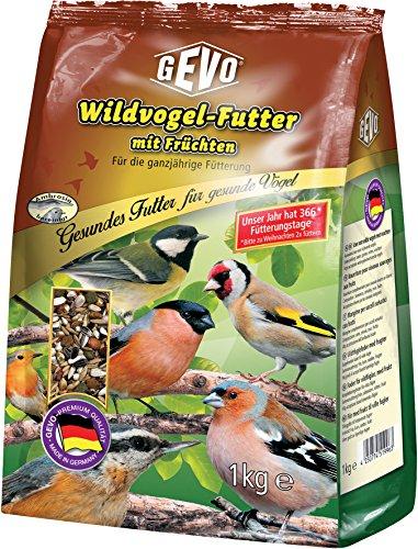 Vogelfutter Wildvogelfutter mit Früchten 1kg