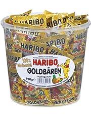 HARIBO HARIBO 迷你黃金熊 水桶 980克 (100袋裝)