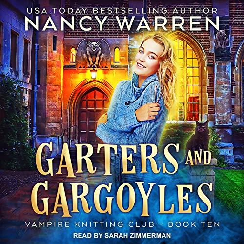 Garters and Gargoyles Audiobook By Nancy Warren cover art