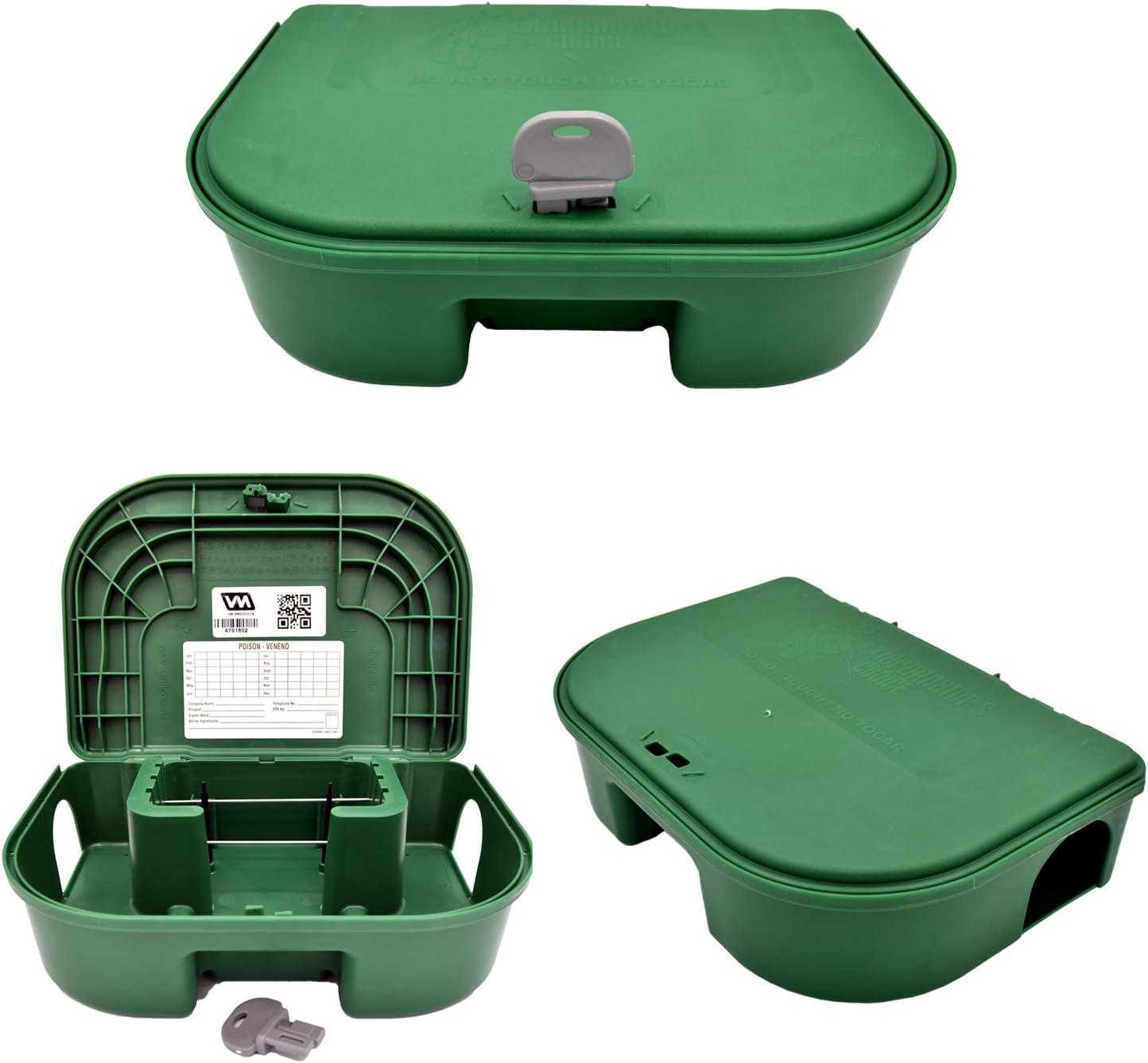Exterminators Daily bargain sale Choice Green Bait Includes Boxes Regular dealer Two