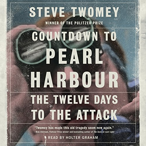 Countdown to Pearl Harbor audiobook cover art