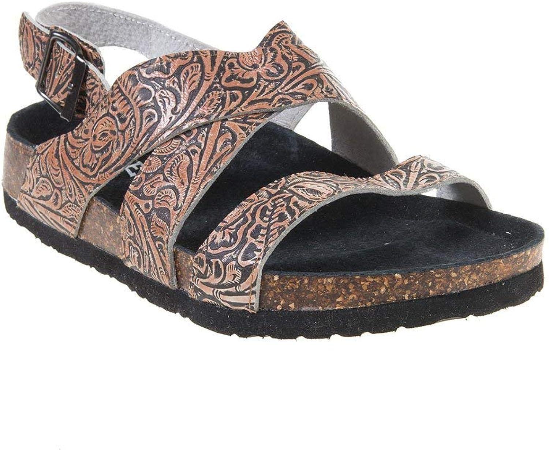 Roper Western shoes Womens Sandals Stella Tan 09-021-0607-1255 TA