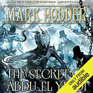 The Secret of Abdu El Yezdi audiobook cover art