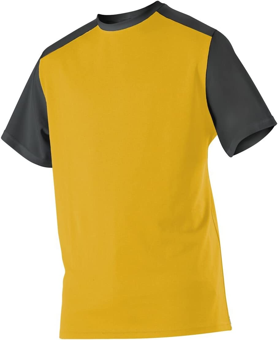 Alleson Athletic Ranking TOP4 Free shipping / New Boys' Youth Mock Jersey Baseball Mesh