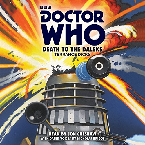 Doctor Who: Death to the Daleks cover art