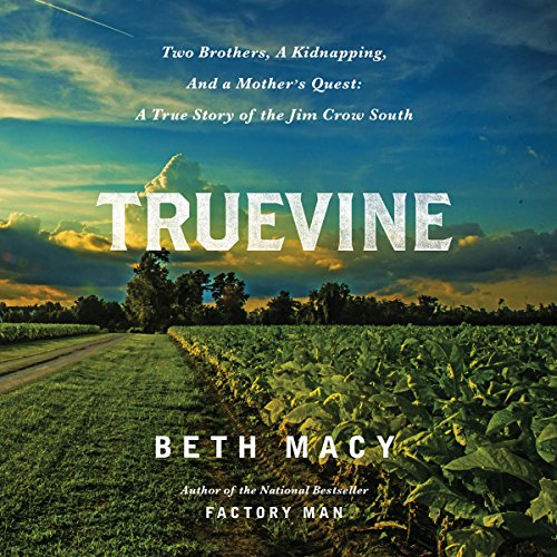 Truevine audiobook cover art