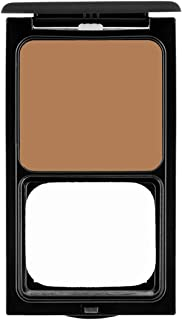 Pro Powder Foundation by Sacha Cosmetics, Best Natural Matte 2-in-1 Powder Foundation Makeup to give a Flawless Finish, Full Coverage, All Skin Types, 0.45 oz, Cocoa Beige