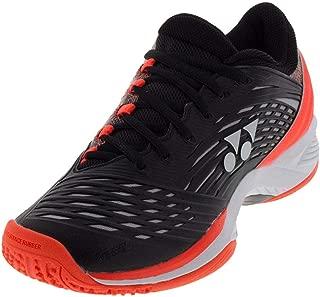 Power Cushion Fusion Rev 2 Clay Mens Tennis Shoe - Black/Orange