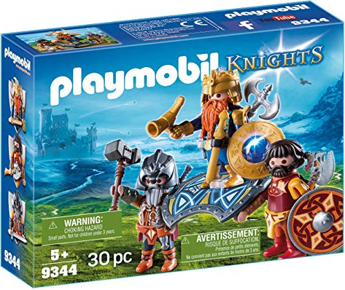 Playmobil Knights 9344 - Re Guerriero, dai 4 anni