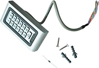 Kafuty Verrouillage Electronique de Code pour lArmoire Clavier Tactile en Alliage Zinc S/écurit/é Num/érique sans Cl/é de Code Serrure de Tiroir Bo/îte aux Lettres Casiers Scolaires