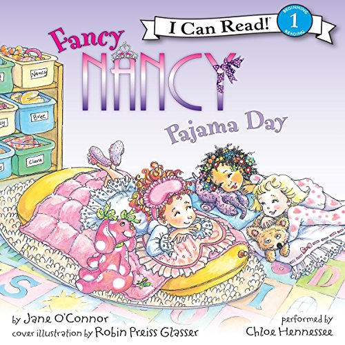Fancy Nancy: Pajama Day audiobook cover art