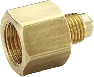 Parker 661FHD-10-8 45 Degree Fitting, Male Flare to Female Flare, Brass, Flare Connector, 5/8