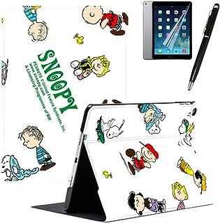GSPSTORE iPad Mini 4 Case with Auto Sleep/Wake Function Trifold Stand Disney Cartoon Snoppy Universal PU Leather Flip iPad case Cover#2