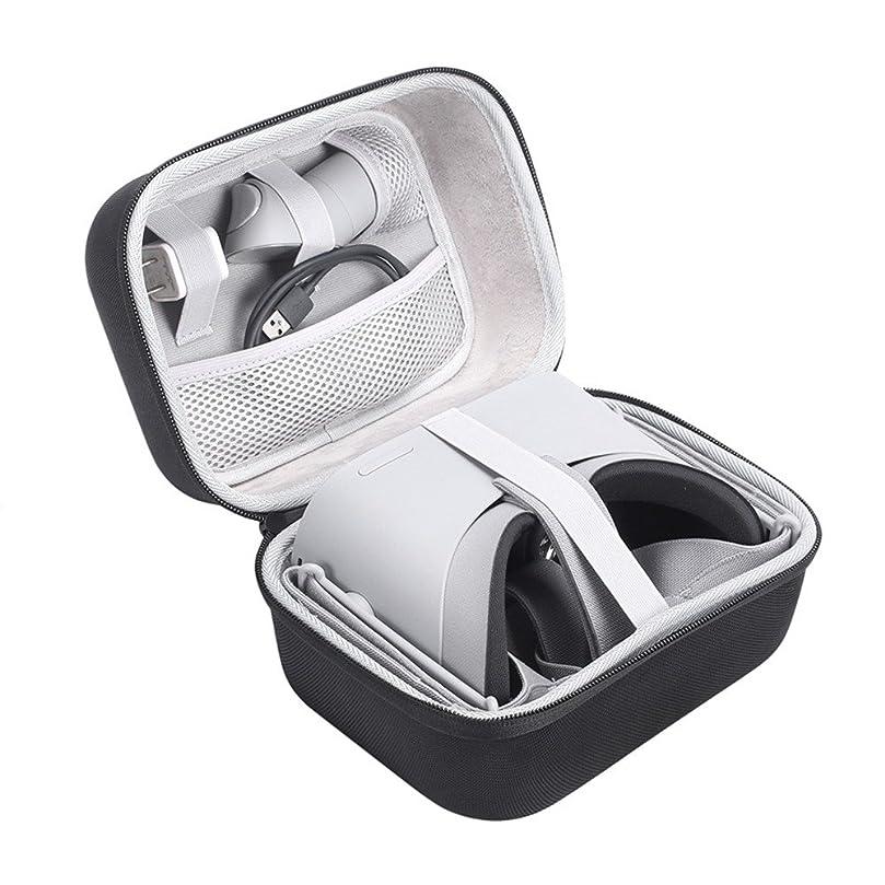 さらにあいまいなデコラティブHonbobo Oculus Go VR用ケース VR眼鏡収納ボックス 防水ハードEVAの保護旅行のキャリーバッグ収納ケース