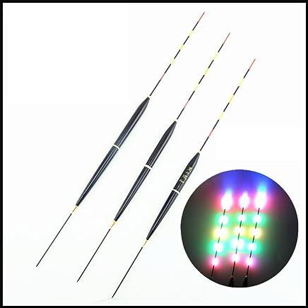 NANAD Bissanzeiger 3 St/ück Outdoor Alarm Zubeh/ör Tragbares Tackle Praktische Rute beleuchtet Licht Karpfenspulen Aufh/änger Swinger Angeln Alarme