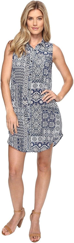 Tolani Womens Holly Sleeveless Tunic Dress