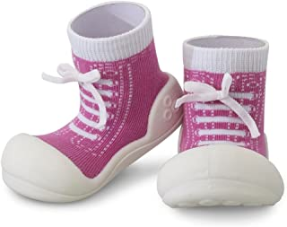 Attipas Sneaker Baby Walker Shoes, Purple, Large