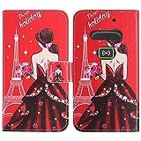 TienJueShi Dream Girl Fashion Style Book Stand Flip PU