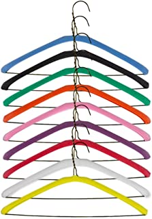 Foam Hanger Covers by Non Slip Grips in 9 Bright Colors   Shoulder Guards for 16 or 17 Inch Hangers   Soft Foam Garment Protector for Lingerie, Tanks & X-Large Clothes   Closet Organizer (Pink)