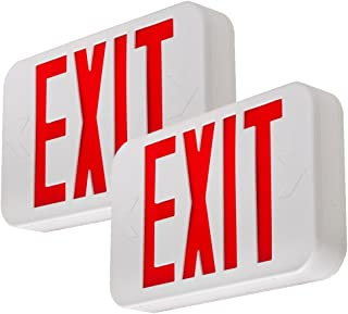 modern exit sign