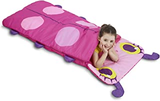 Melissa & Doug Sunny Patch Trixie Ladybug Sleeping Bag With Matching Storage Bag