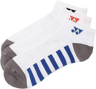 スポーツソックス 3足組 靴下 メンズ ヨネックス YONEX 3Pスニーカーインソックス バドミントン テニス ソフトテニス 3足セット ラケットスポーツ/19149Y