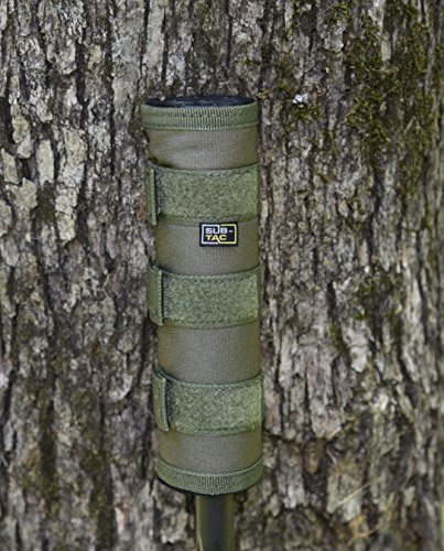 subtac Blowout Sale Suppressor Cover 6 inch Green fits silencerco Silencer