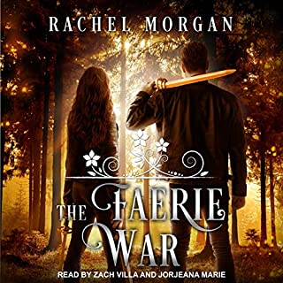 The Faerie War     Creepy Hollow Series, Book 3              By:                                                                                                                                 Rachel Morgan                               Narrated by:                                                                                                                                 Jorjeana Marie,                                                                                        Zach Villa                      Length: 9 hrs and 20 mins     9 ratings     Overall 4.4