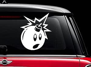 Black Adam Bomb Sticker the Hundreds (White 5