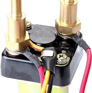 SCITOO Starter Relay Solenoid Compatible for Kawasaki PWC JS440 1987-1992 440 JS550 1986-1990 550 JS550 SX 1991-1995 550 SMU6060 27010-3006 27010-3007