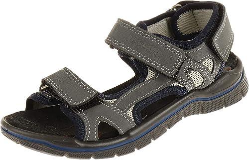 Ricosta 6221400156 Chaussures de Course pour Enfant en Jeans Latte Nubuk Mamba