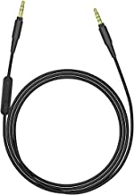 Geekria Audio Cable Replacement for Skullcandy Hesh, Hesh 2.0, Crusher, Grind/ Audio Cord with Volume Control and Microphone, Works With Apple/Android