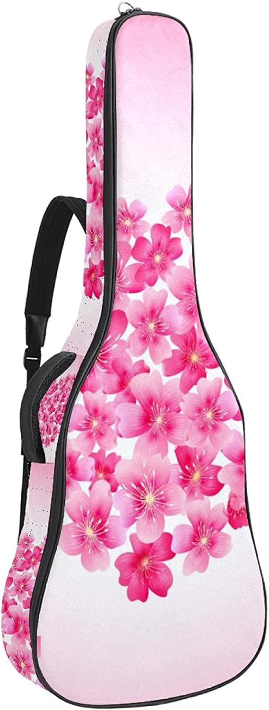 Acoustic Guitar Bag Cherry Blossom 35% SALENEW very popular! OFF Bbb Shoulder Heart Adjustable