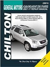 2011 chevy traverse repair manual